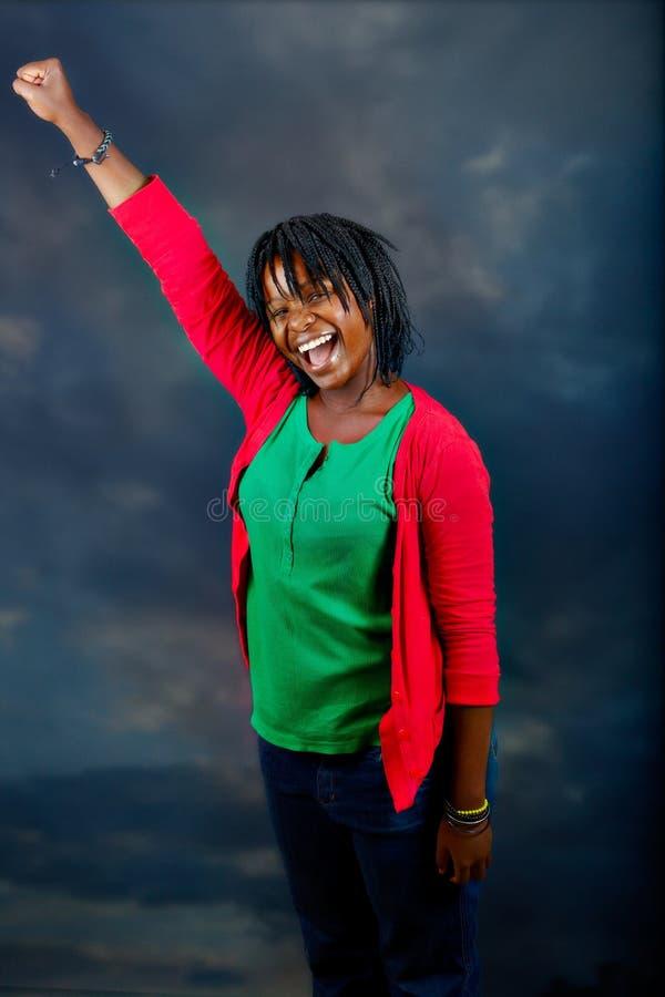 非洲妇女年轻人 库存图片