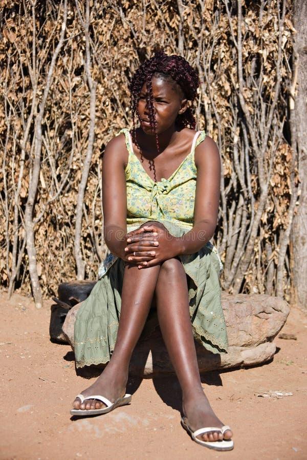 非洲妇女 免版税库存图片