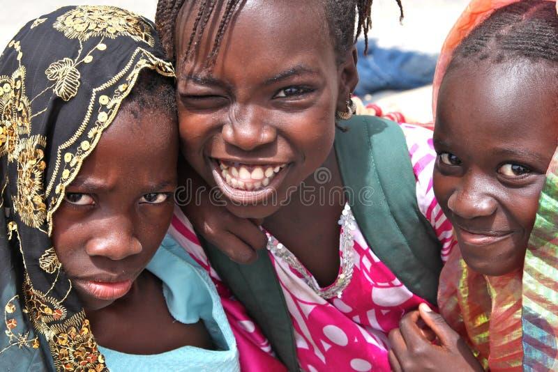 非洲孩子 免版税图库摄影