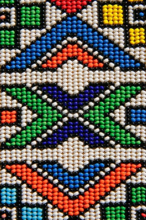 非洲小珠 免版税库存照片