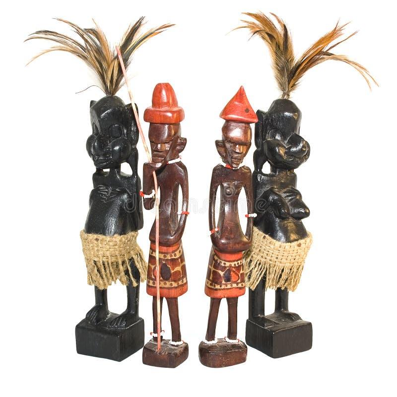 非洲小雕象 图库摄影