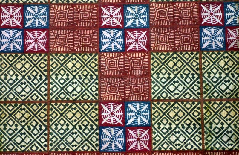 非洲布料织品当地人 图库摄影