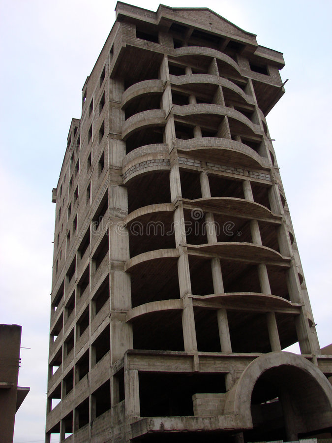 非洲摩天大楼 免版税图库摄影