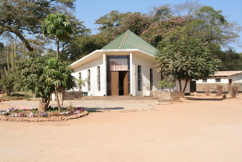 非洲教会 免版税库存照片