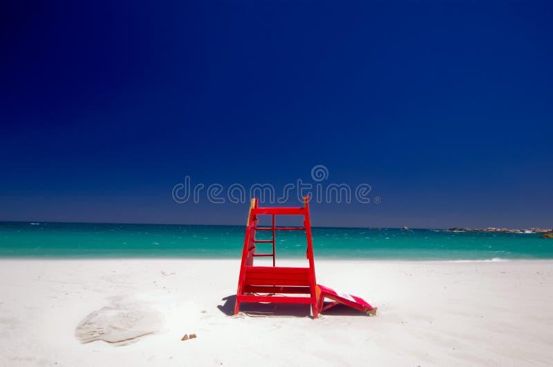 非洲海湾海滩阵营海角南城镇 图库摄影