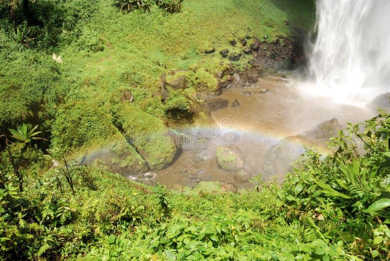 非洲瀑布 免版税库存照片