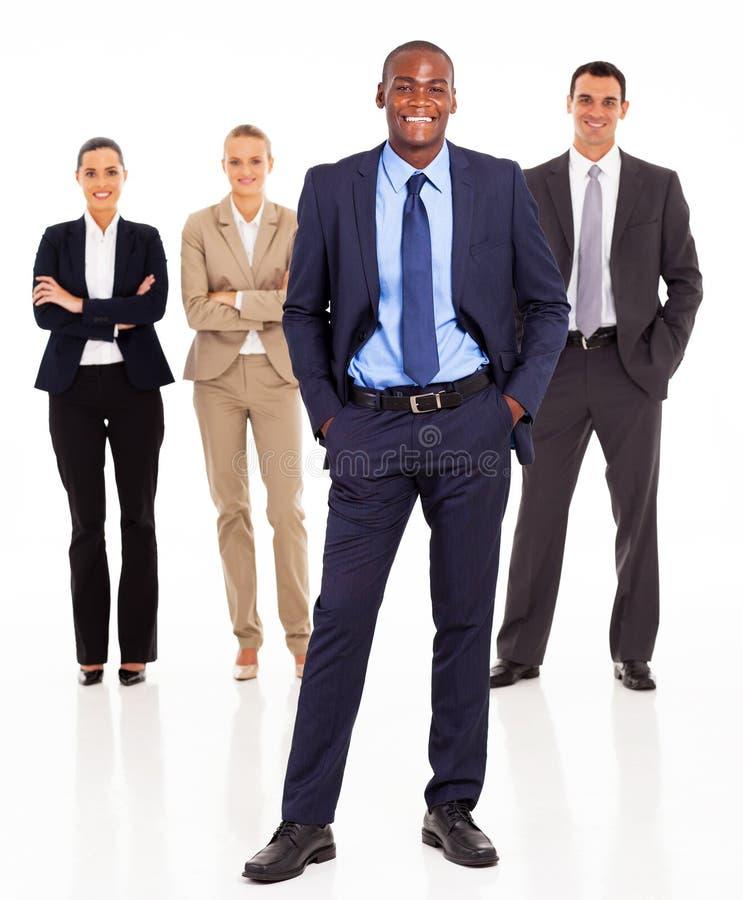 非洲生意人小组 库存图片