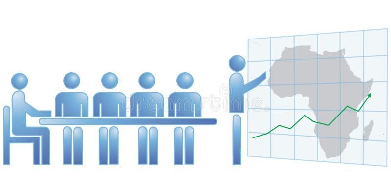 非洲统计数据 向量例证