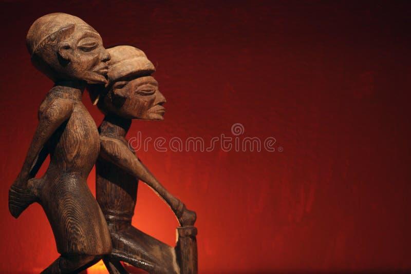 非洲艺术样式 免版税库存照片