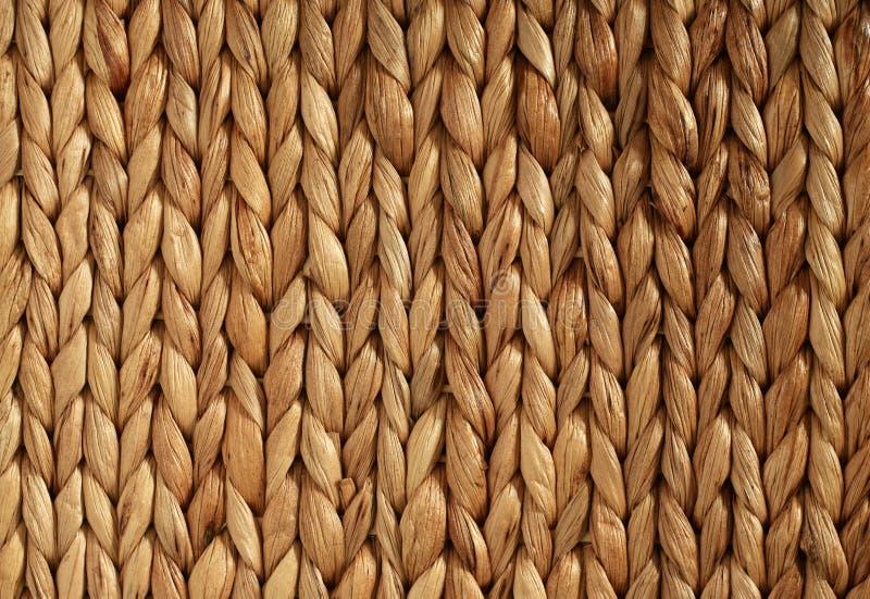 非洲被编织的篮子水平的纹理 库存照片
