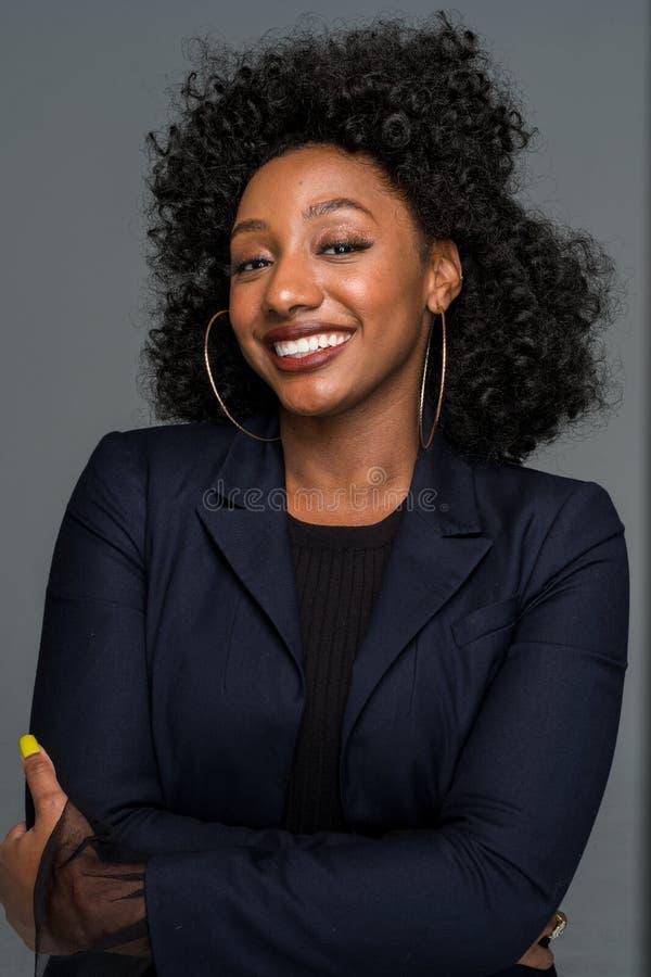 非洲裔美国人的妇女年轻人 库存照片