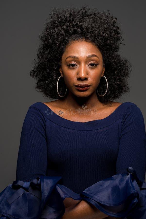 非洲裔美国人的妇女年轻人 图库摄影