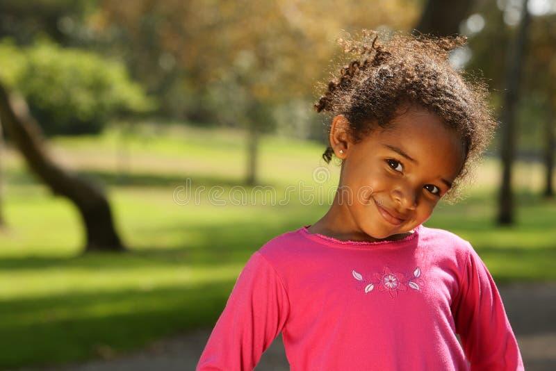 非洲裔美国人的子项 免版税图库摄影