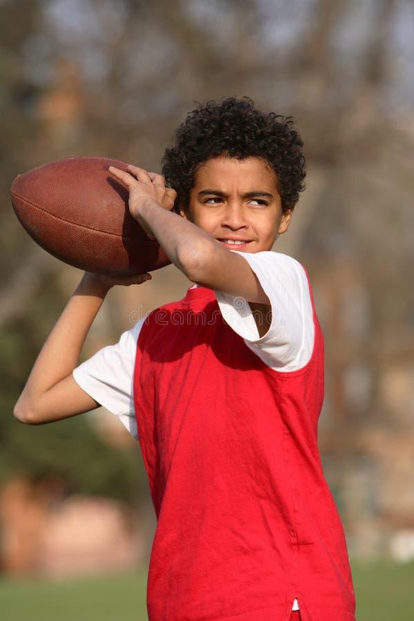 非洲裔美国人的男孩 图库摄影