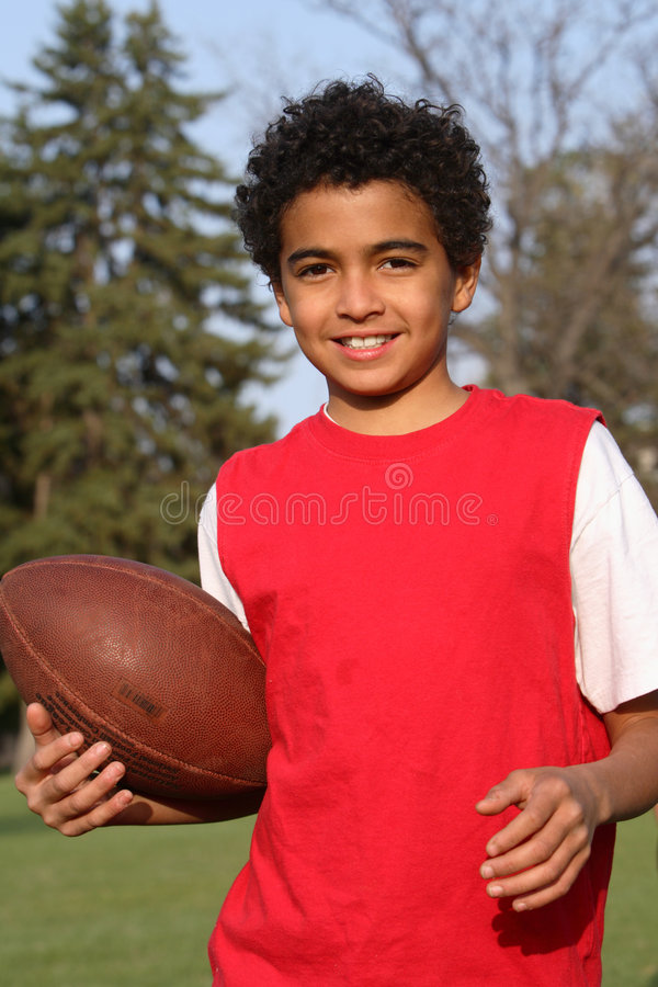 非洲裔美国人的男孩 库存照片