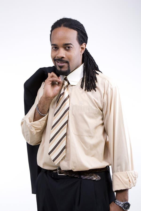 非洲裔美国人的男性设计 库存图片