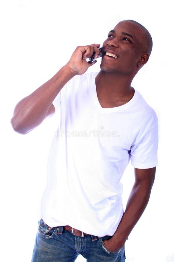 非洲裔美国人的男 图库摄影