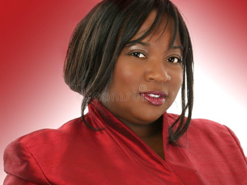 非洲裔美国人的美丽的妇女 免版税图库摄影