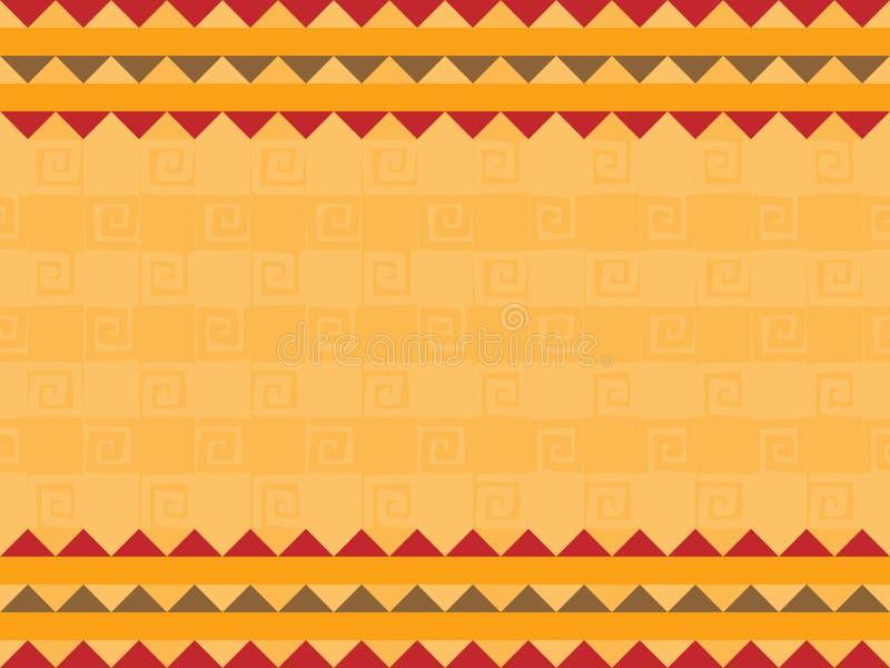 非洲设计 皇族释放例证