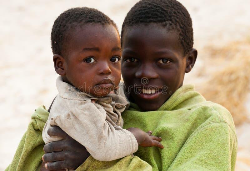 非洲贫穷 免版税图库摄影