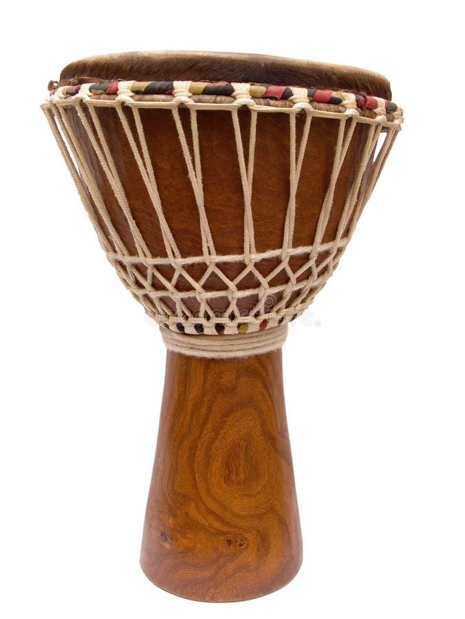 非洲djembe鼓 免版税库存图片