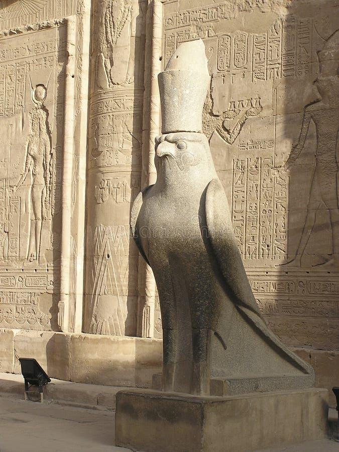 非洲edfu埃及寺庙 免版税图库摄影