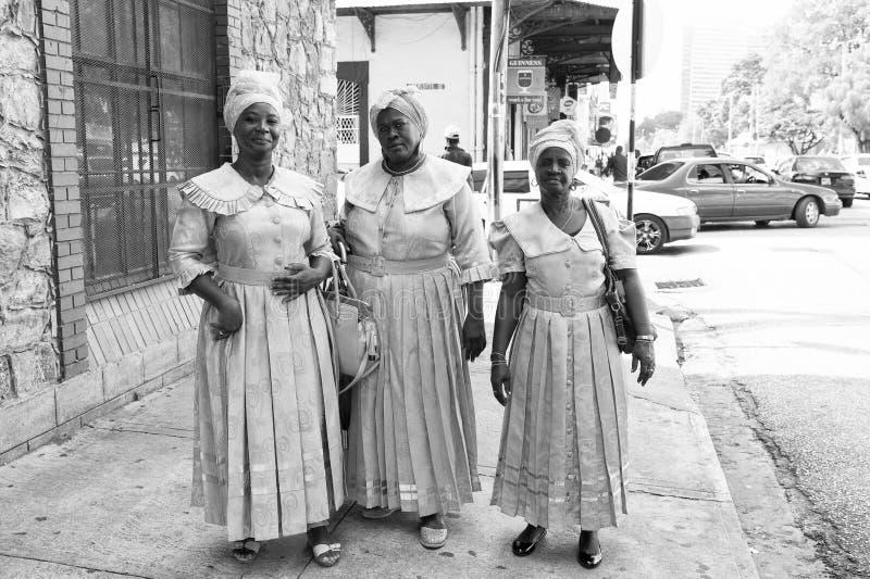非裔美国人妇女种族歌手 免版税库存图片