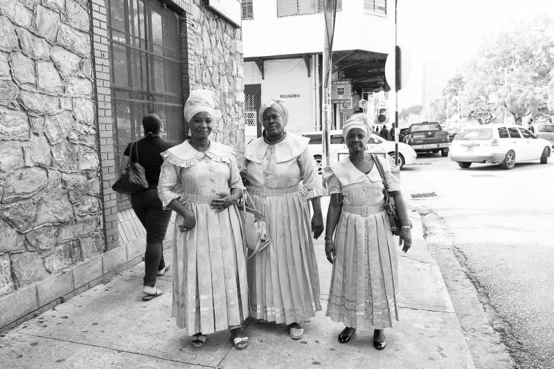 非裔美国人妇女种族歌手 库存照片