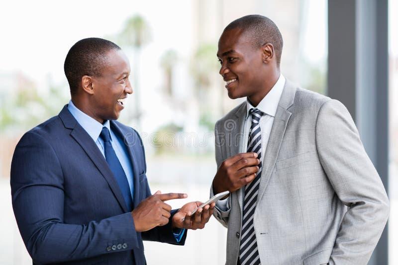 非裔美国人的企业队 库存图片
