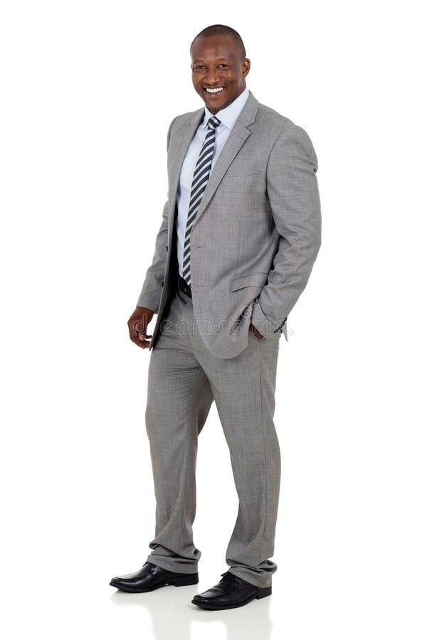 非裔美国人的商人 库存图片