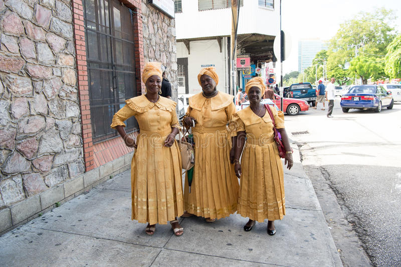 非裔美国人的妇女种族歌手 库存图片