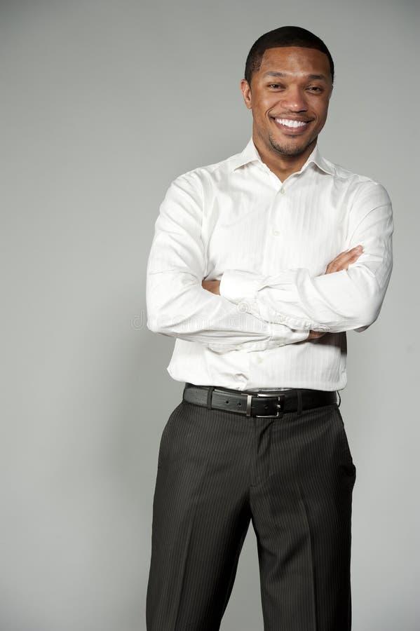 非裔美国人的男孩 免版税库存照片