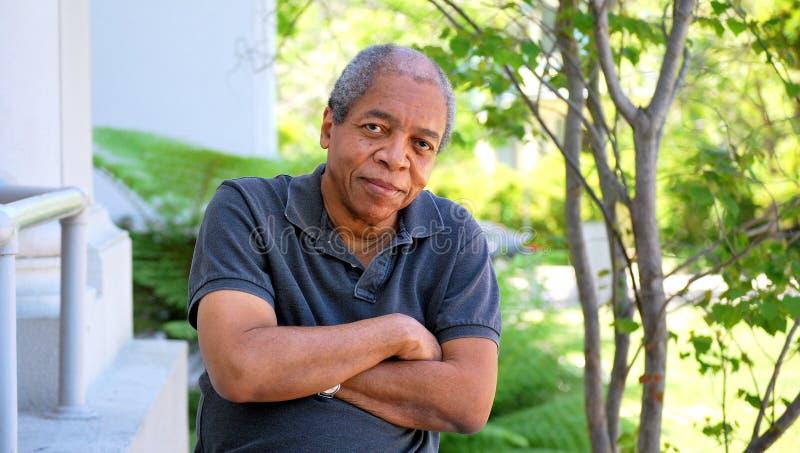 非裔美国人的男性表示 图库摄影