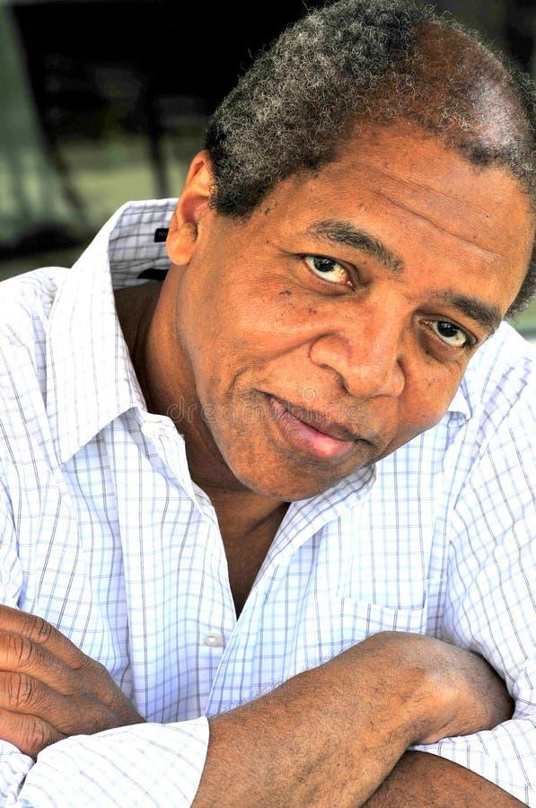 非裔美国人的男 图库摄影
