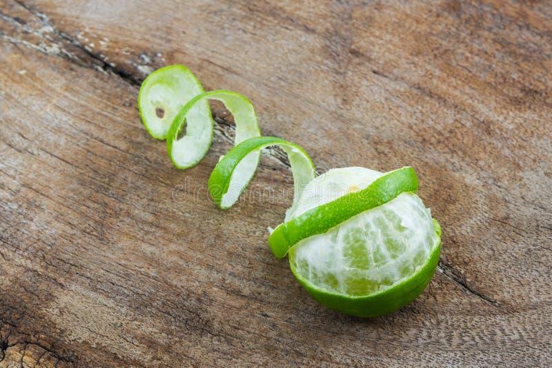 非洲黑人石灰香柠檬 免版税库存图片