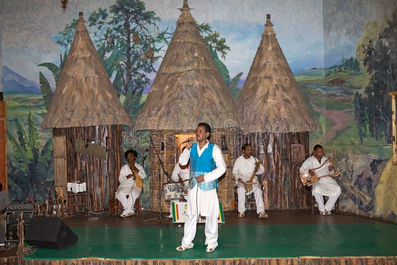 非洲传统歌手 库存图片
