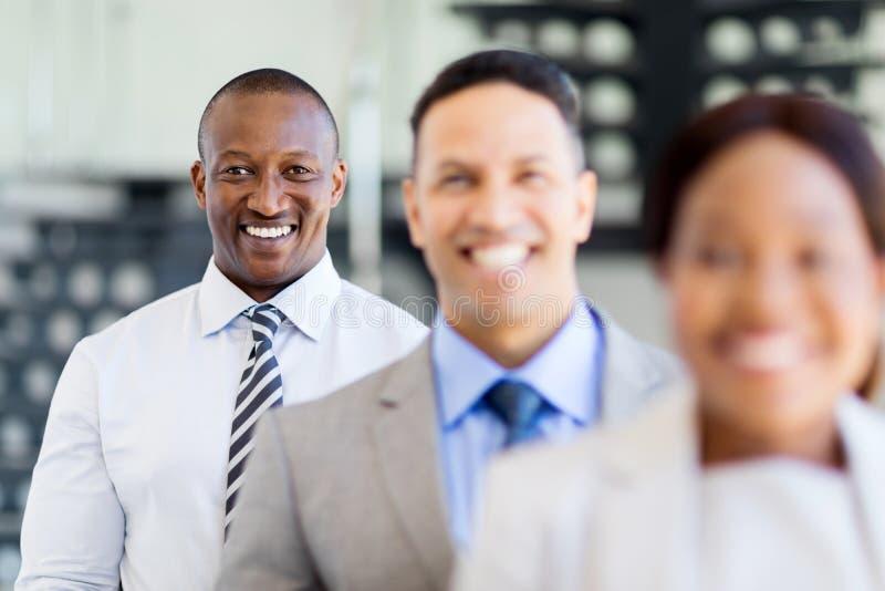 非洲商人企业队 库存照片