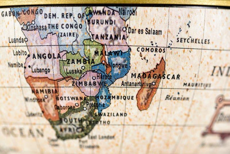 非洲地球 库存照片