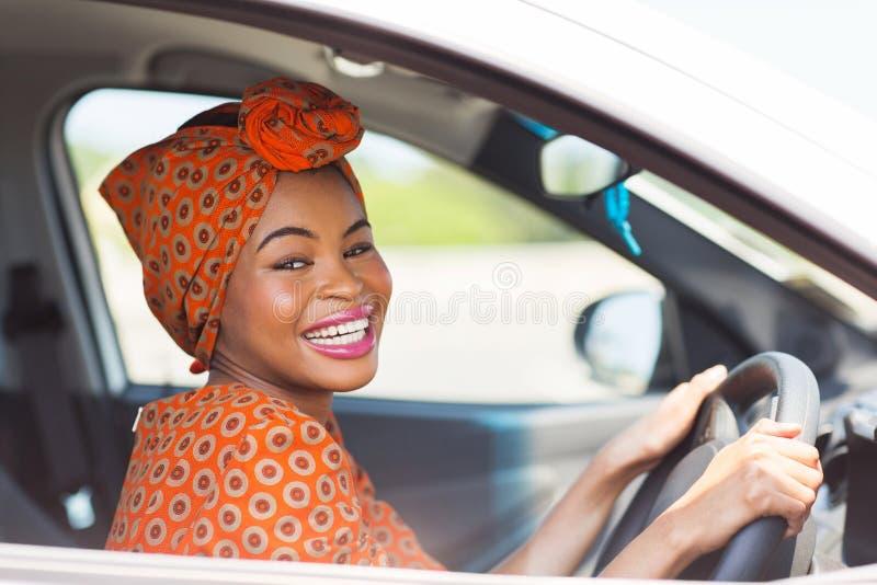 非洲母司机 免版税库存照片