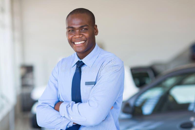非洲汽车推销员 免版税库存照片