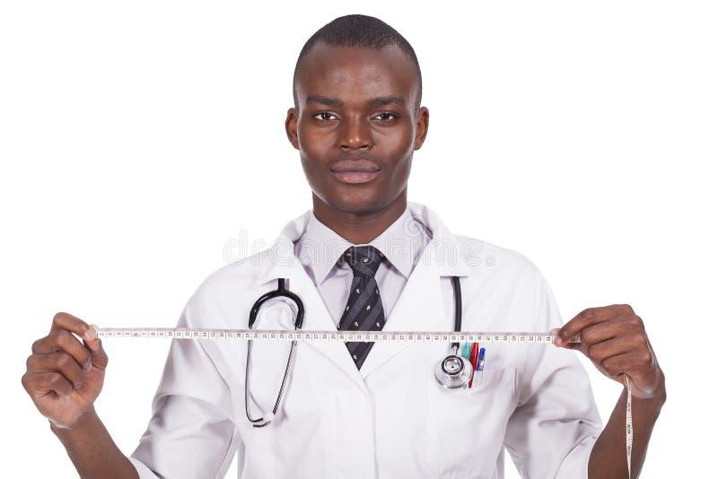 非洲年轻医生 免版税库存照片