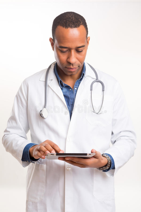 非洲医生 免版税库存照片