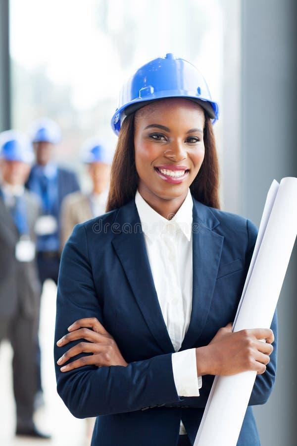 非洲建筑经理 免版税库存照片