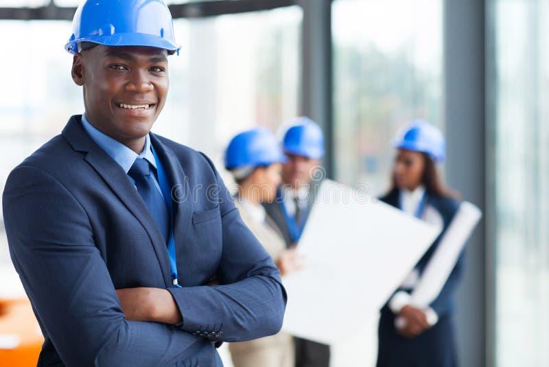 非洲建筑经理 免版税库存图片
