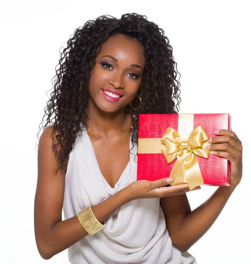 非洲裔美国人的年轻人 免版税库存图片