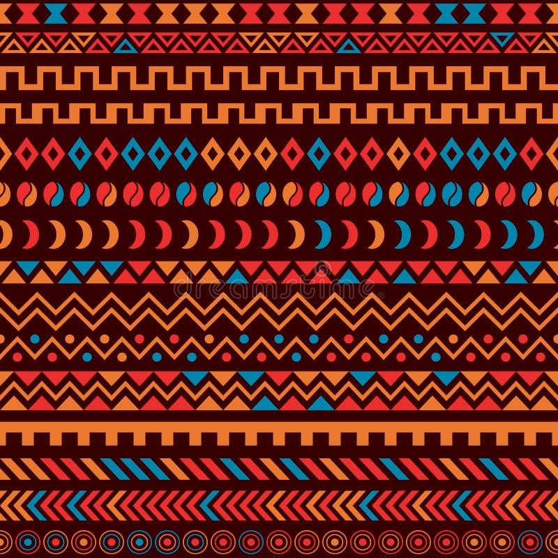 非洲部族样式种族装饰品 皇族释放例证