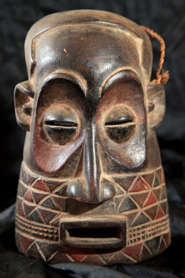 非洲部族面具- Zande部落 免版税库存图片