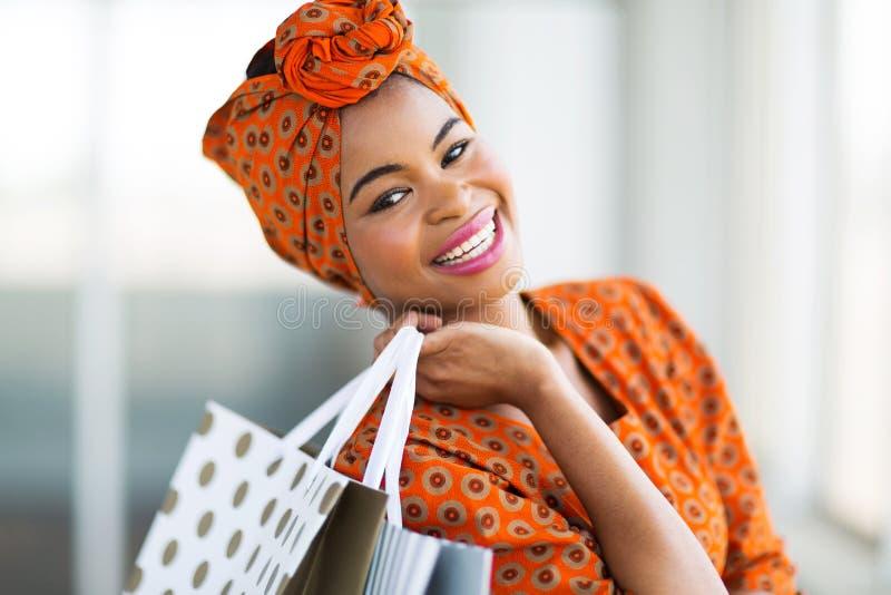 非洲顾客购物中心 图库摄影