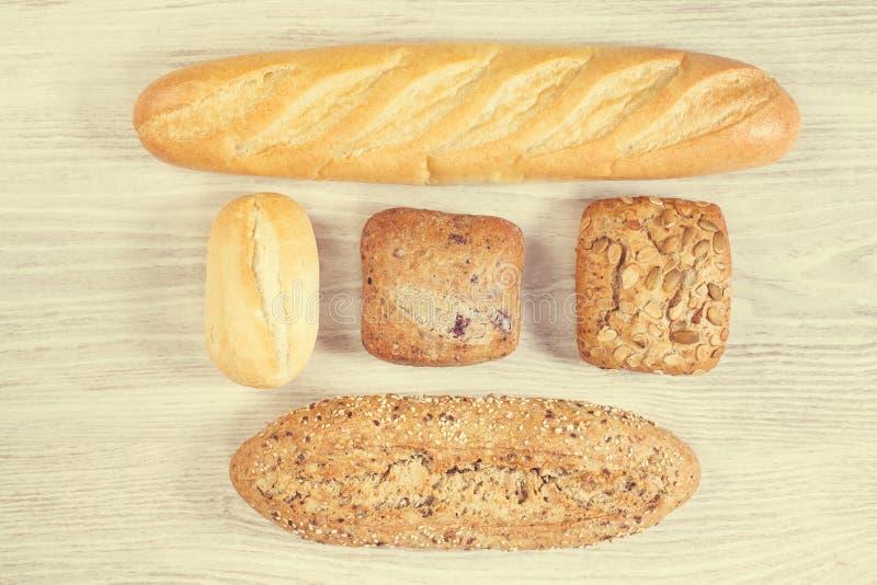 面包不同形式  库存图片