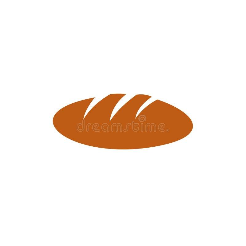 面包传染媒介模板设计例证 皇族释放例证